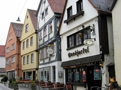 Germany has strict building codes, resulting in some very quaint and well preserved towns