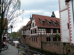 Our day trip to explore the Odenwald region of Hessen was a charming day where we paid a whirlwind visit to Erbach, Michelstadt, and Miltenberg