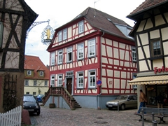 Erbach is very proud of its history, as is evident by its incredibly well preserved half-timbered buildings and cobblestoned walkways