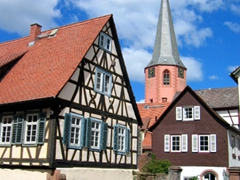 It was a glorious Spring day when we visited this perfect corner of Germany. Michelstadt is the stuff of dreams