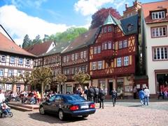 City center of Miltenberg