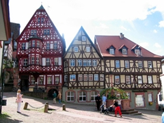 Miltenberg's town square is one of Europe's most scenic