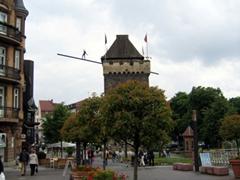 The Schelztor gate-tower was built in 1286 at Esslingen's northwest corner