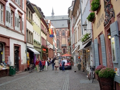 We could only afford to window shop in Heidelberg as we found prices to be inflated due to the high influx of tourists year round