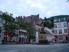 An evening view of pretty Heidelberg
