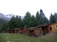 One final look back at Fairy Meadows Cottages