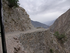 The jeep trail from Raikot Bridge to Tato (and reverse) is legendary for its dizzying views