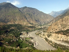Scenery on our drive from Raikot Bridge to Besham