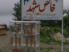 Pure honey for sale (delicious by the way); Murree road side