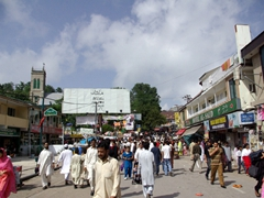 Murree in the summertime has a carnival like feel and is a great place to people watch