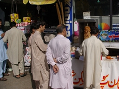 The first donor kebab stand we saw in Pakistan was in Murree