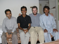 Friends for life: Saeed, Zia, Robby, and Hamid who all ensured we had the best trip to Pakistan, ever!