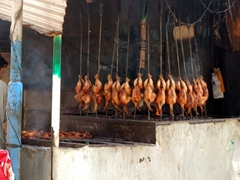 Roasted chicken for sale; Murree