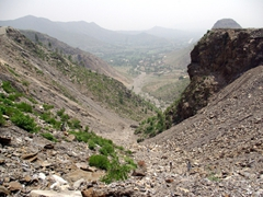 A look down the Malakand Pass