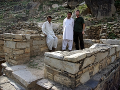 Hamid, Sadik and Robby; Chatpat Ruins