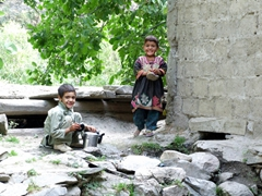 We found the children of the Kalasha Valleys to be very happy and friendly