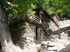 Birir is the most traditional of the three Kalasha Valleys, with most homes built of a mixture of stone, wood, and mud