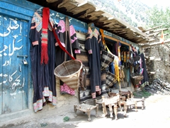 Bumboret is the most touristy of the Kalasha Valleys, with souvenir stands displaying traditional items for sale