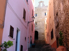 Since Castelsardo is built on hilly terrain, be prepared for plenty of steps as you explore this lovely town
