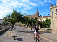 A picturesque summer day in Alghero