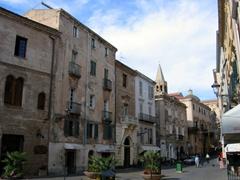 A street in Alghero
