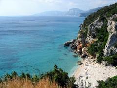 Spectacular beach, Cala Gonone
