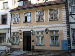 A circa 1759 restaurant in old Riga
