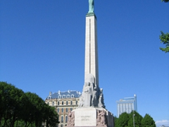 """Milda"", Latvia's Freedom Monument"