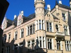 Beautiful architecture abounds in lovely Riga