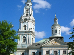 There are several picturesque churches in Old Riga