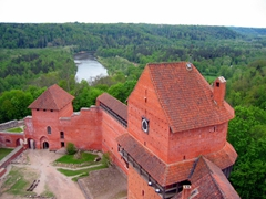 View from Turaida Castle, Sigulda