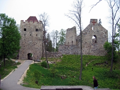 Ruins of the 13th Century Sigula Castle