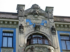 There are over 800 art nouveau buildings in Riga and its wonderful to stroll around spotting some of the finest examples