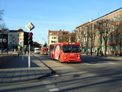 Main street in Klaipeda