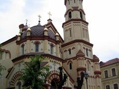The Orthodox Church of St Nicholas is one of the oldest Orthodox churches in Vilnius. It was originally built in 1340 (and has been subsequently rebuilt several times since then)