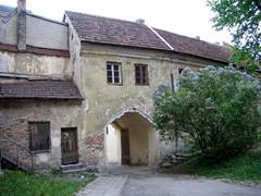 A quaint portal in old Vilnius