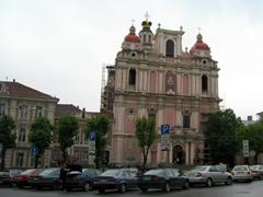 The beautiful Church of St Casimir; Vilnius