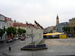 View from Vilnius' Town Hall