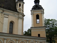 There are a whopping 65 churches in Vilnius alone, and we found one on almost every corner