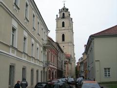 The belfry of Saint John's