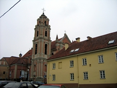 View of the All Saints Church