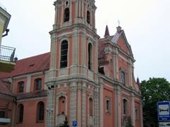 The baroque style All Saints Church
