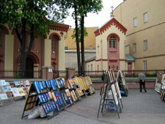 Paintings for sale, Castle Street