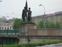 Bridge decor, Vilnius
