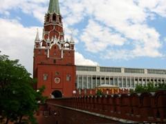 Kremlin wall guard tower