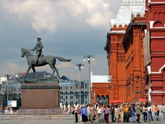 Statue of Field Marshal Zhukov, Moscow