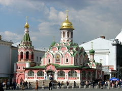 Kazan Cathedral was considered one of the most important churches in Moscow