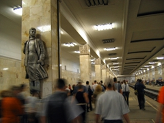 Over 6 million passengers ride the Moscow Metro on a daily basis, making it one of the most heavily used public transportation systems in the world