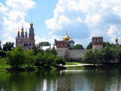 Novodevichy Convent is Moscow's most famous cloister