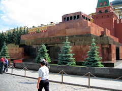 Lenin's Mausoleum in the Red Square